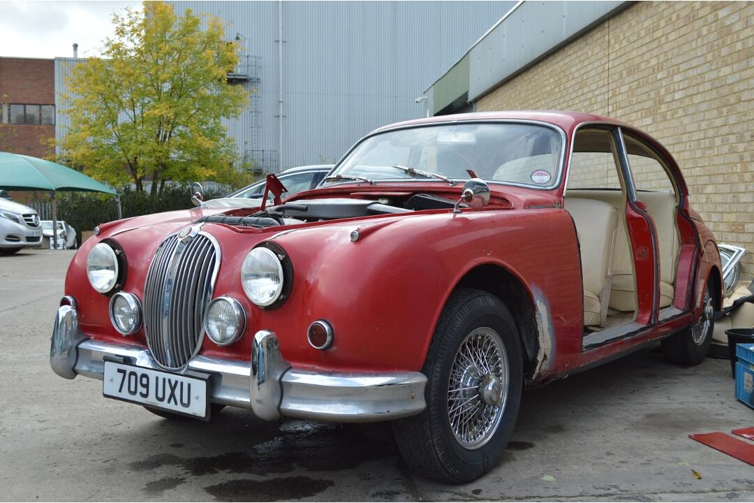 1962 Jaguar Mk2 3.8 Manual Restoration Project #2