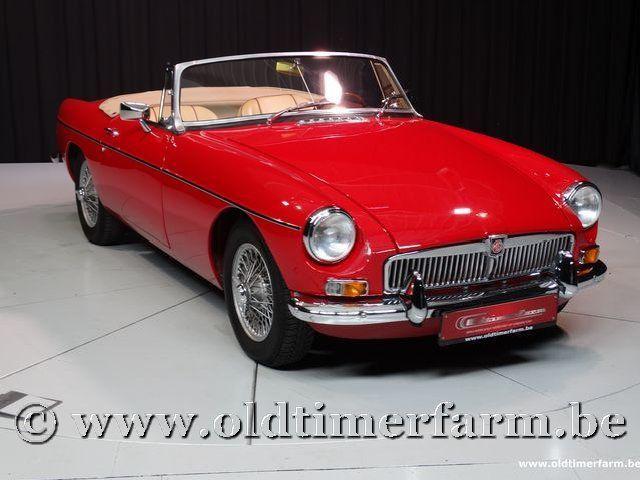 MG B Roadster Red '67 #81