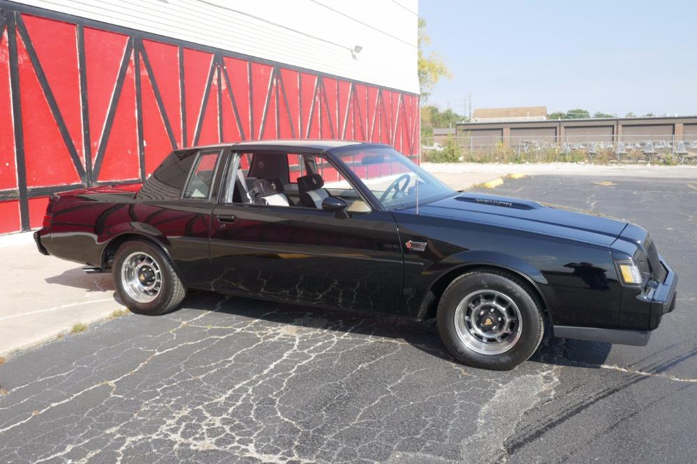 1987 Buick Grand National -ONE OWNER WITH 44k MILES -T-TOPS- SEE VIDEO Stock # 3887JC for sale near Mundelein, IL | IL Buick Dealer #13
