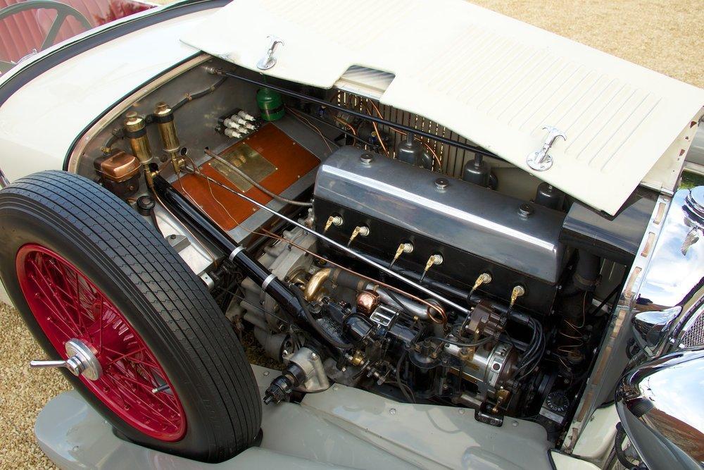 1932 Alvis Speed 20 SA 4-Door Tourer by Cross & Ellis #16