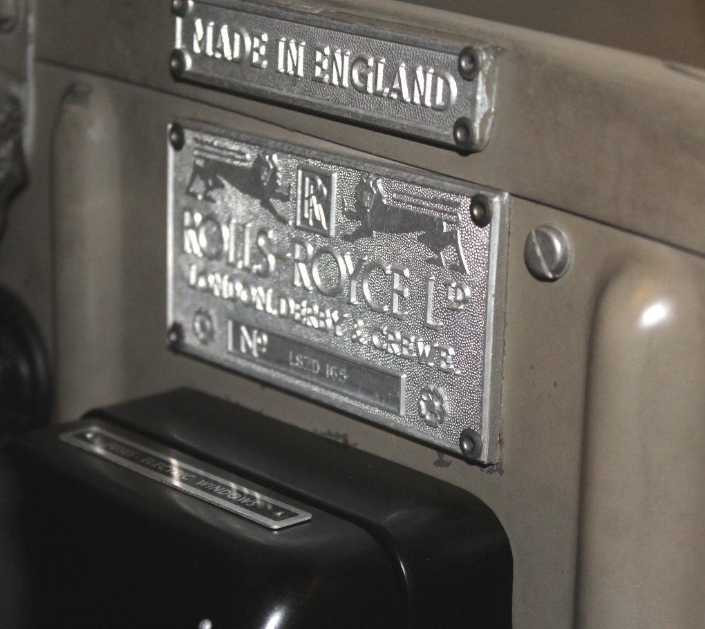 1962 ROLLS-ROYCE SILVER CLOUD II STANDARD SEDAN #LSZD165 – 35,490 MILES #11