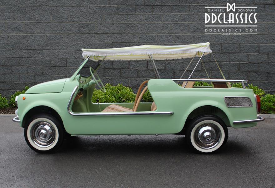 Fiat 500 Giardiniera Jolly 1962 #2