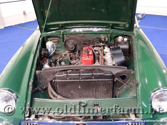 MG B Roadster Green '66 #138