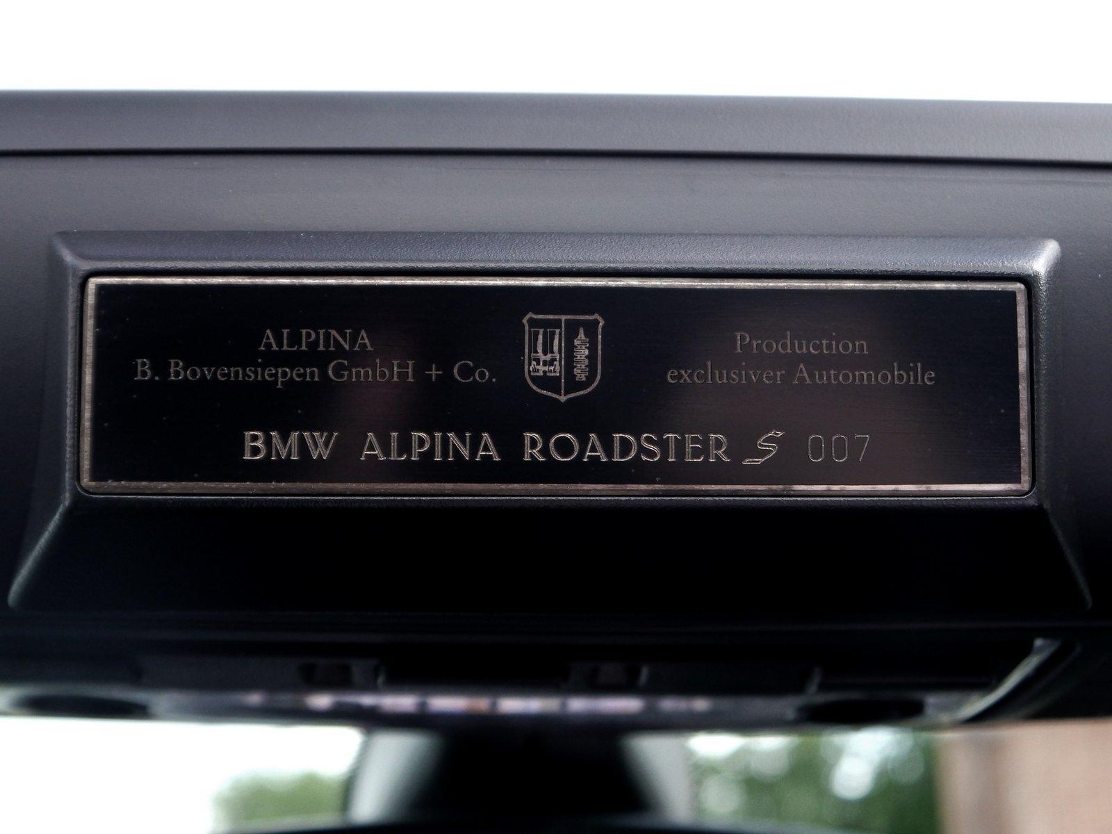 BMWALPINA ROADSTER 3.4 S LUX - RARE VEHICLE - BMW FSH #14