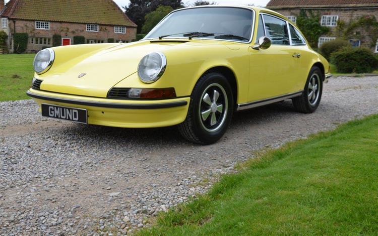 Porsche 911 E 2.4 Coupe #0