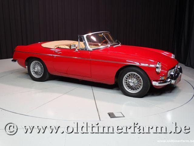MG B Roadster Red '67 #42