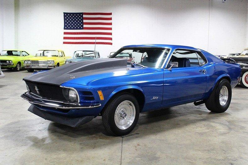 1970 Ford Mustang Fastback #0