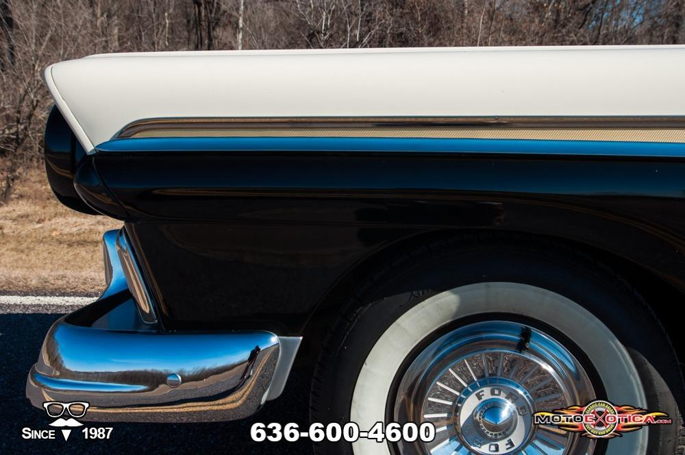1957 Ford Fairlane 500 Sunliner Restomod #59