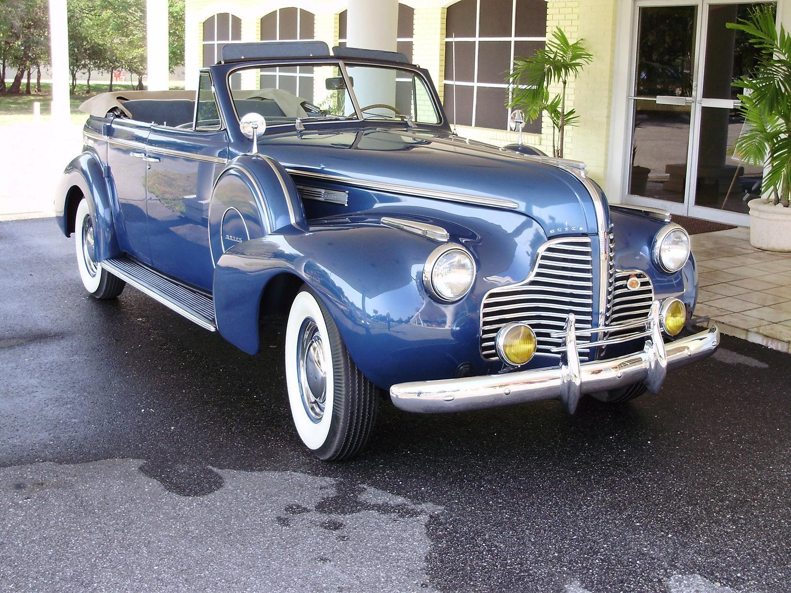 1940 BUICK CENTURY CONVERTIBLE SEDAN - Vintage Motors of Sarasota Inc. #9