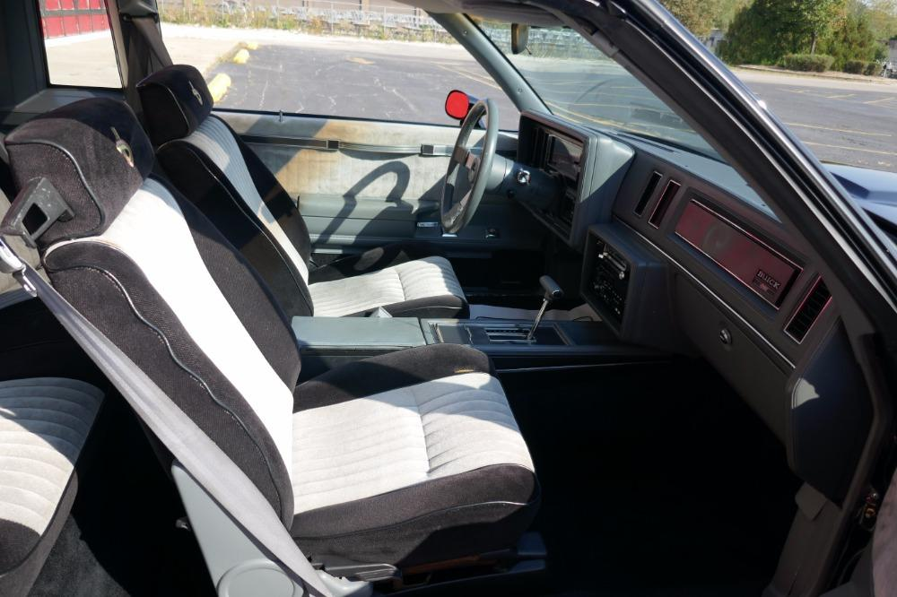 1987 Buick Grand National -ONE OWNER WITH 44k MILES -T-TOPS- SEE VIDEO Stock # 3887JC for sale near Mundelein, IL | IL Buick Dealer #36