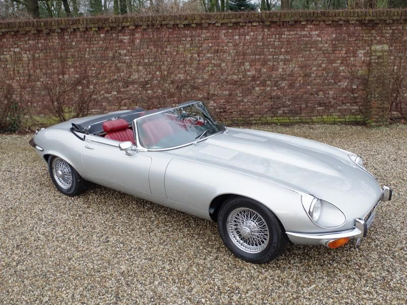 Jaguar E-type series 3 V12 convertible manual gearbox, with factory AC (1973) #18