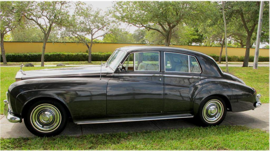1963 Rolls-Royce Silver Cloud III Standard Sedan #LSCX49 – 49,636 Miles #1