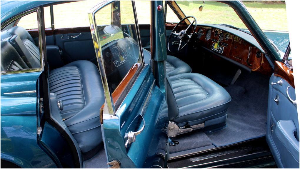 1964 ROLLS-ROYCE SILVER CLOUD III CONTINENTAL JAMES YOUNG SCV100 SPORT SEDAN #LSGT635C ONE OF 2 LEFT DRIVES BUILT #4