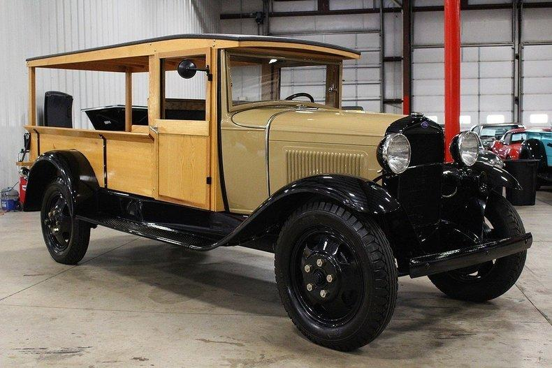 1931 Ford AA Huckster #6