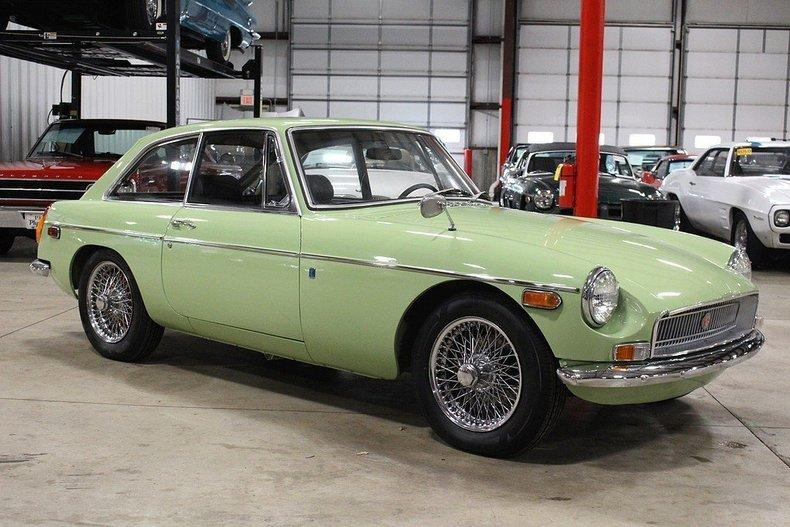 1970 MG MGB GT #6