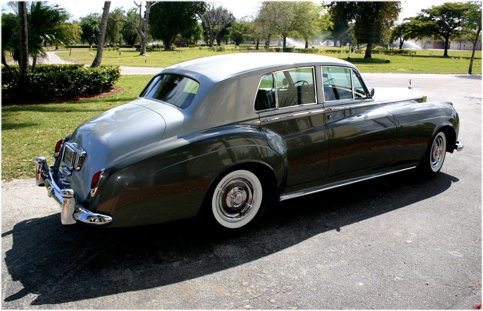 1962 ROLLS-ROYCE SILVER CLOUD II STANDARD SEDAN #LSZD165 – 35,490 MILES #9