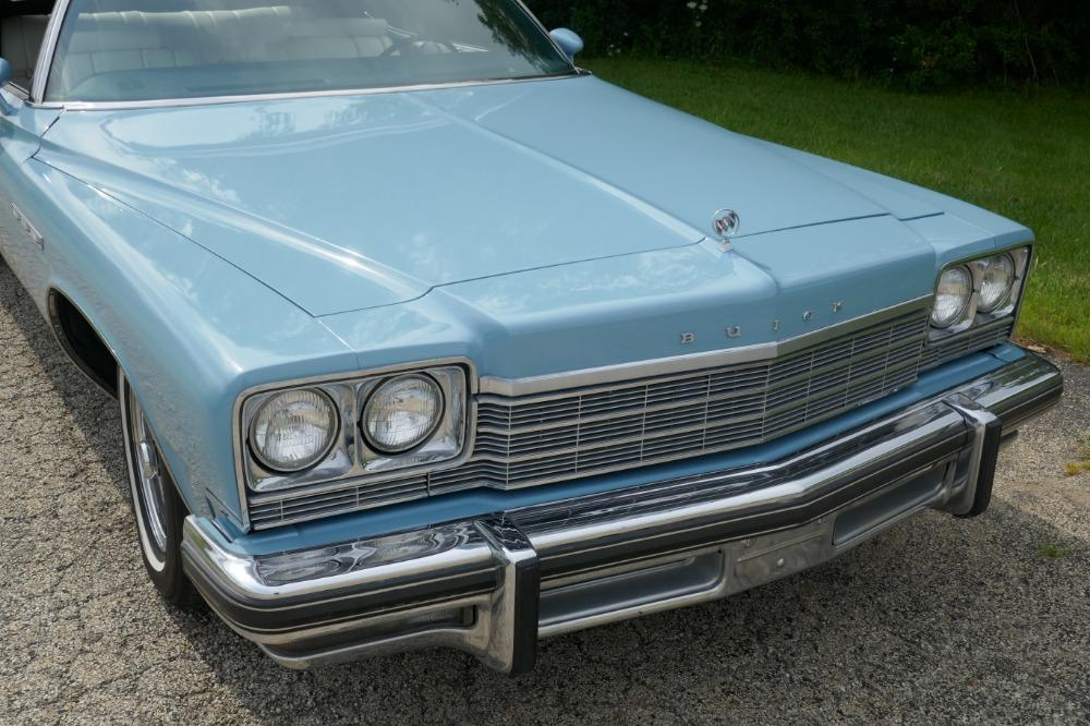 1975 Buick LeSabre -PRICE DROP - CONVERTIBLE -SUPER LOW MILES- NEW PAINT 2017-SEE VIDEO Stock # 75ILKF for sale near Mundelein, IL | IL Buick Dealer #12