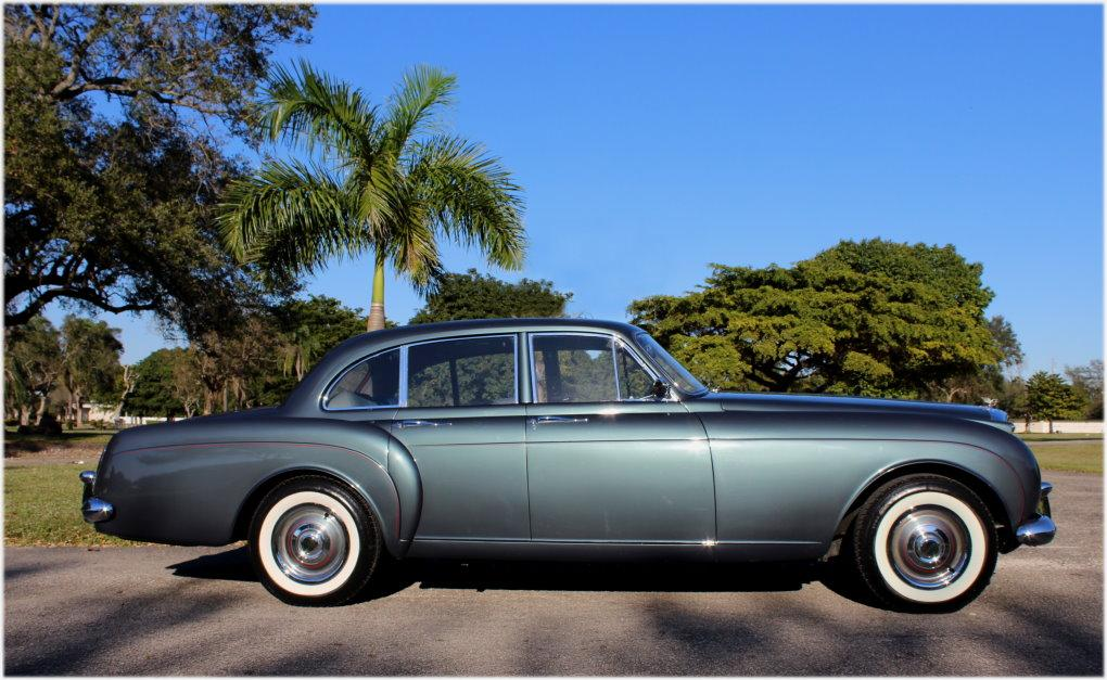 1960 BENTLEY S2 CONTINENTAL H.J. MULLINER STYLE 7508 FLYING SPUR #BC66LAR – 97,353 km (58,411 miles) #4