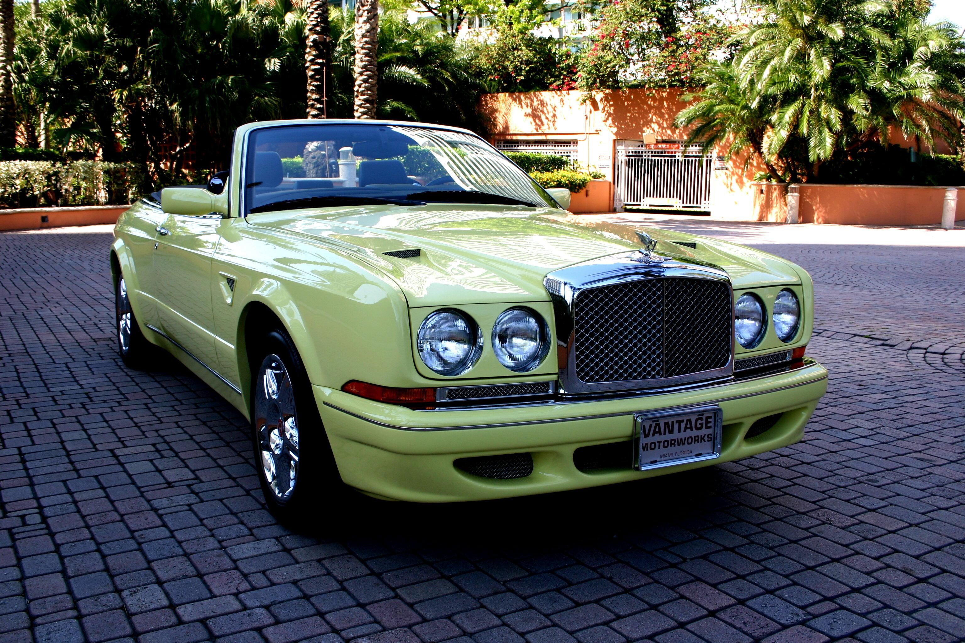 "2001 BENTLEY MULLINER ""WIDEBODY"" AZURE – Personal Commission – #1 of 1 – 420 Hp #1CX62524 42,633 miles #1"