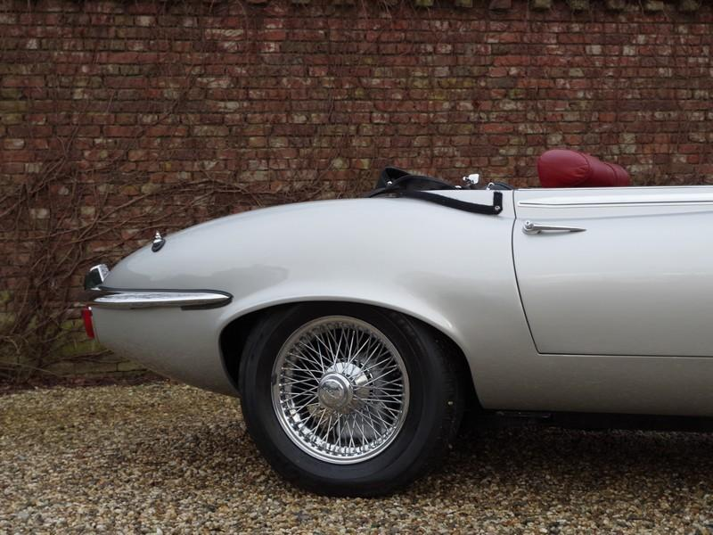 Jaguar E-type series 3 V12 convertible manual gearbox, with factory AC (1973) #69