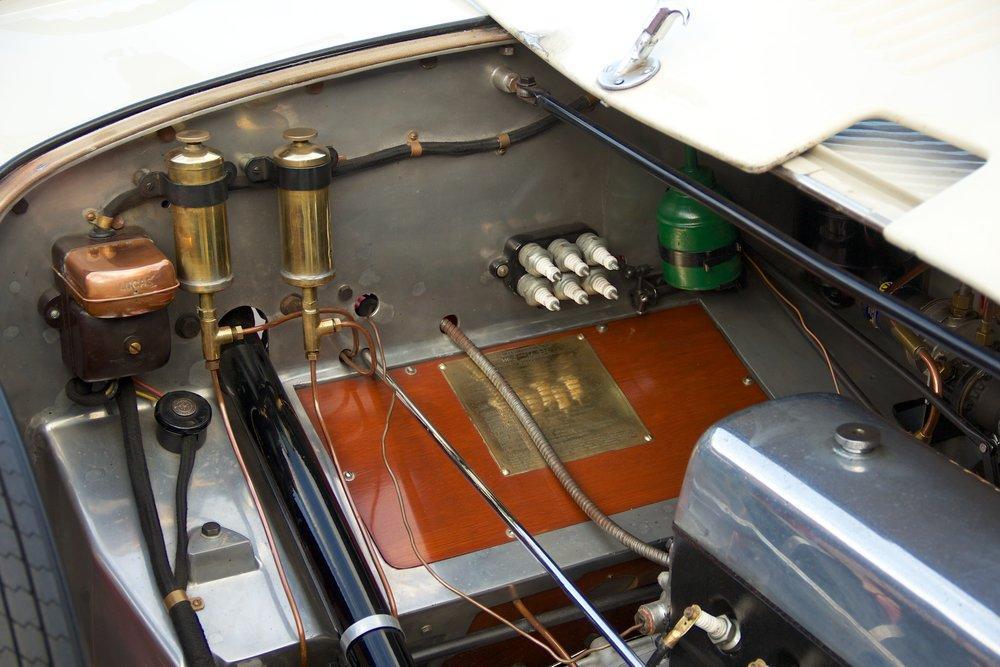 1932 Alvis Speed 20 SA 4-Door Tourer by Cross & Ellis #17