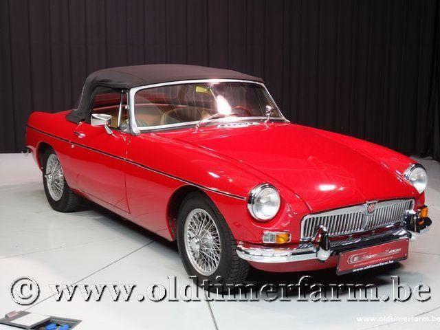 MG B Roadster Red '67 #205