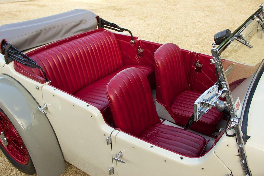 1932 Alvis Speed 20 SA 4-Door Tourer by Cross & Ellis #14