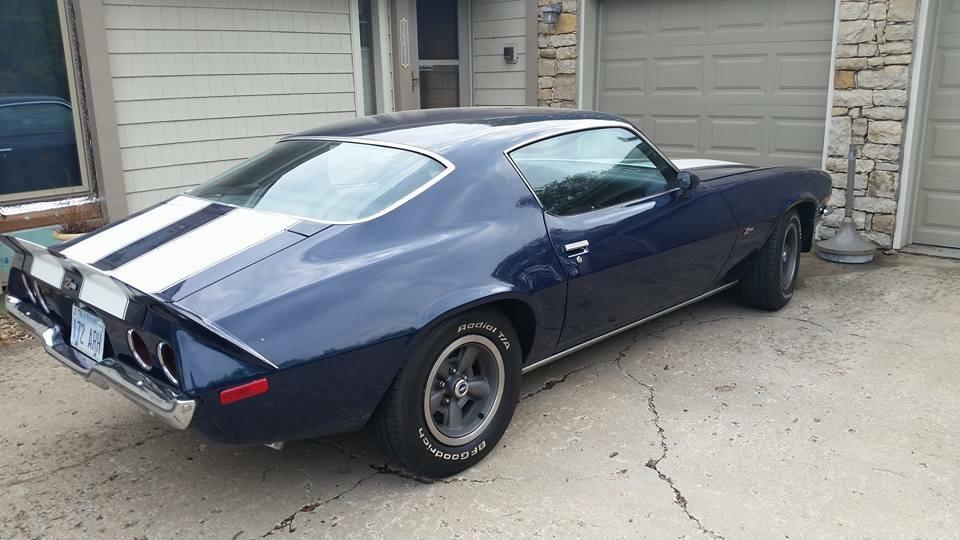 1973 Chevrolet Camaro -Z/28 MIDNIGHT BLUE-SOLID MUSCLE CAR- Stock # 22535KS for sale near Mundelein, IL | IL Chevrolet Dealer #1