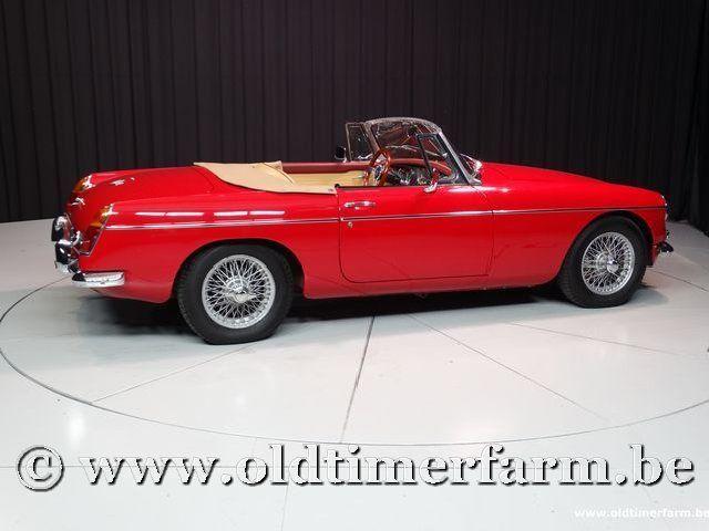MG B Roadster Red '67 #36
