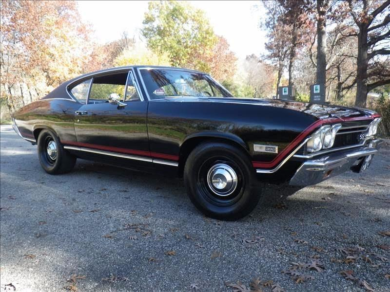1968 Chevrolet Chevelle -3 OWNERS- DOCUMENTED- NUMBERS MATCHING Stock # 3868ILSR for sale near Mundelein, IL | IL Chevrolet Dealer #15