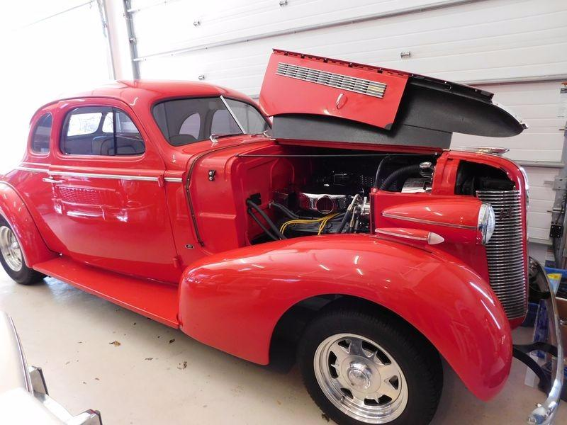 1937 Buick Century -RARE BUICK COUPE- CHECK OUT MY UPDATED INTERIOR- Stock # 37KYSR for sale near Mundelein, IL | IL Buick Dealer #5