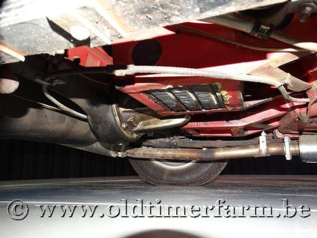 MG B Roadster Red '67 #186