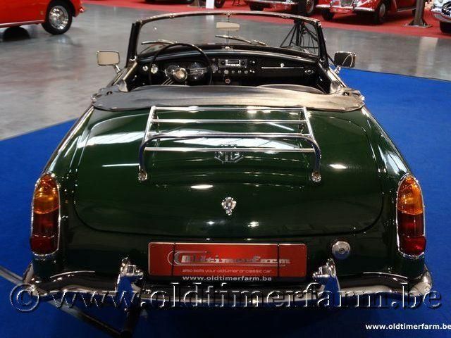 MG B Roadster Green '66 #12