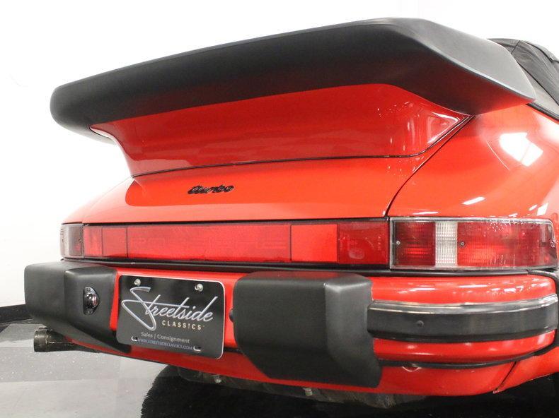 1988 Porsche 911 Turbo Cabriolet #20