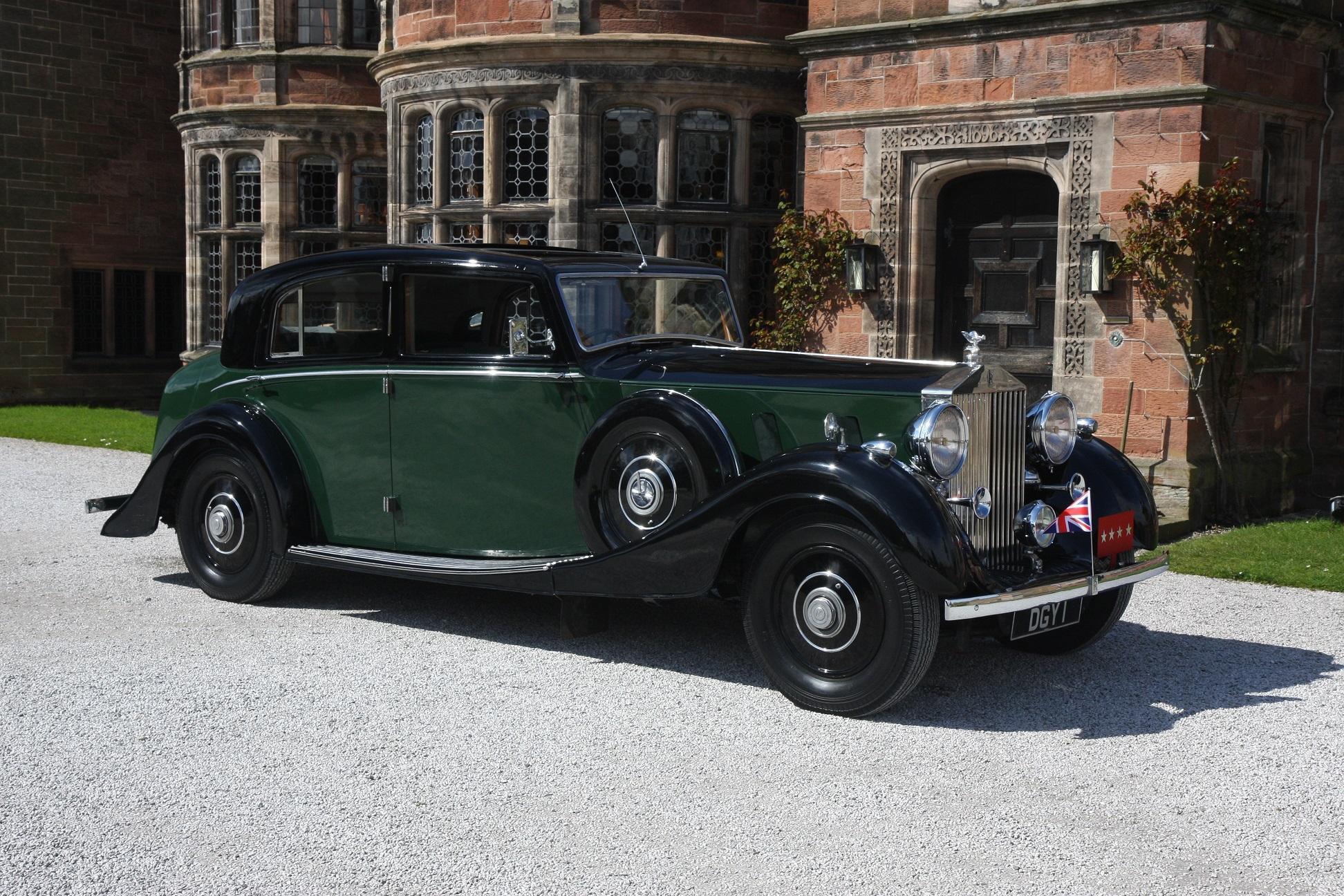 1936 Rolls Royce Phantom III #1