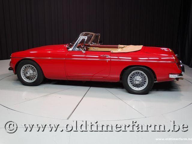 MG B Roadster Red '67 #12