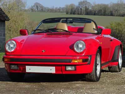 1989 Porsche 911 Carrera 3.2 Speedster - Price Estimate: £100000 - £120000 #0