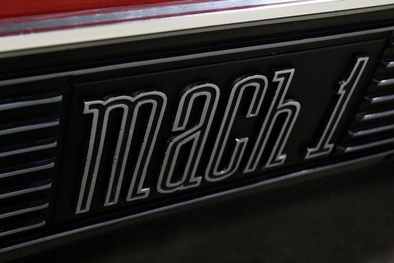 1970 Ford Mach 1 428 COBRA JET #28