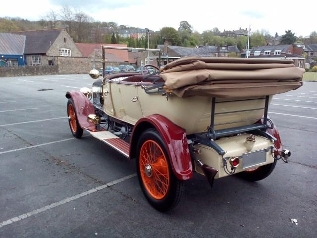 1921 Wolseley Model 20 C8 #22