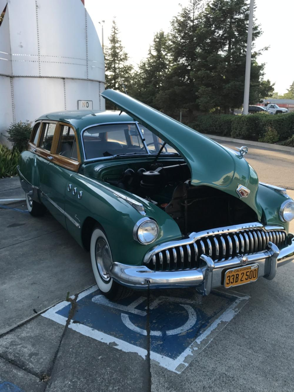 1949 Buick Series 50 -RARE WOODY WAGON- ONLY 653 BUILT-Super Estate Wagon Stock # 849CAMK for sale near Mundelein, IL | IL Buick Dealer #47