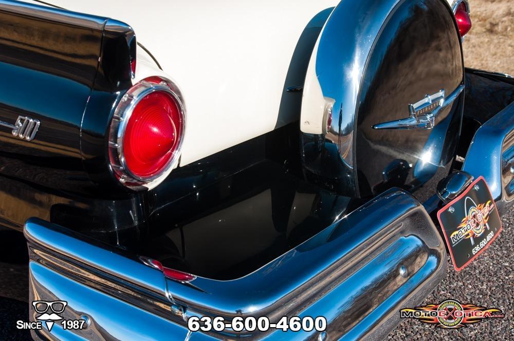 1957 Ford Fairlane 500 Sunliner Restomod #41
