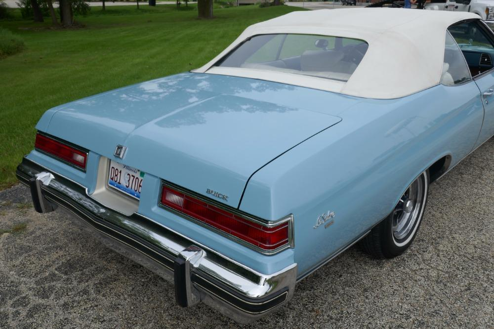 1975 Buick LeSabre -PRICE DROP - CONVERTIBLE -SUPER LOW MILES- NEW PAINT 2017-SEE VIDEO Stock # 75ILKF for sale near Mundelein, IL | IL Buick Dealer #21