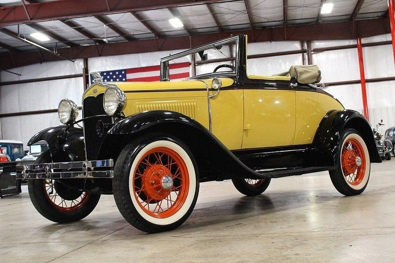 1931 Ford Model A #84