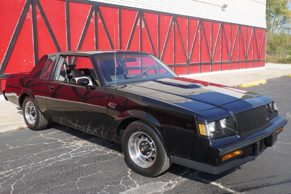 1987 Buick Grand National -ONE OWNER WITH 44k MILES -T-TOPS- SEE VIDEO Stock # 3887JC for sale near Mundelein, IL | IL Buick Dealer #14