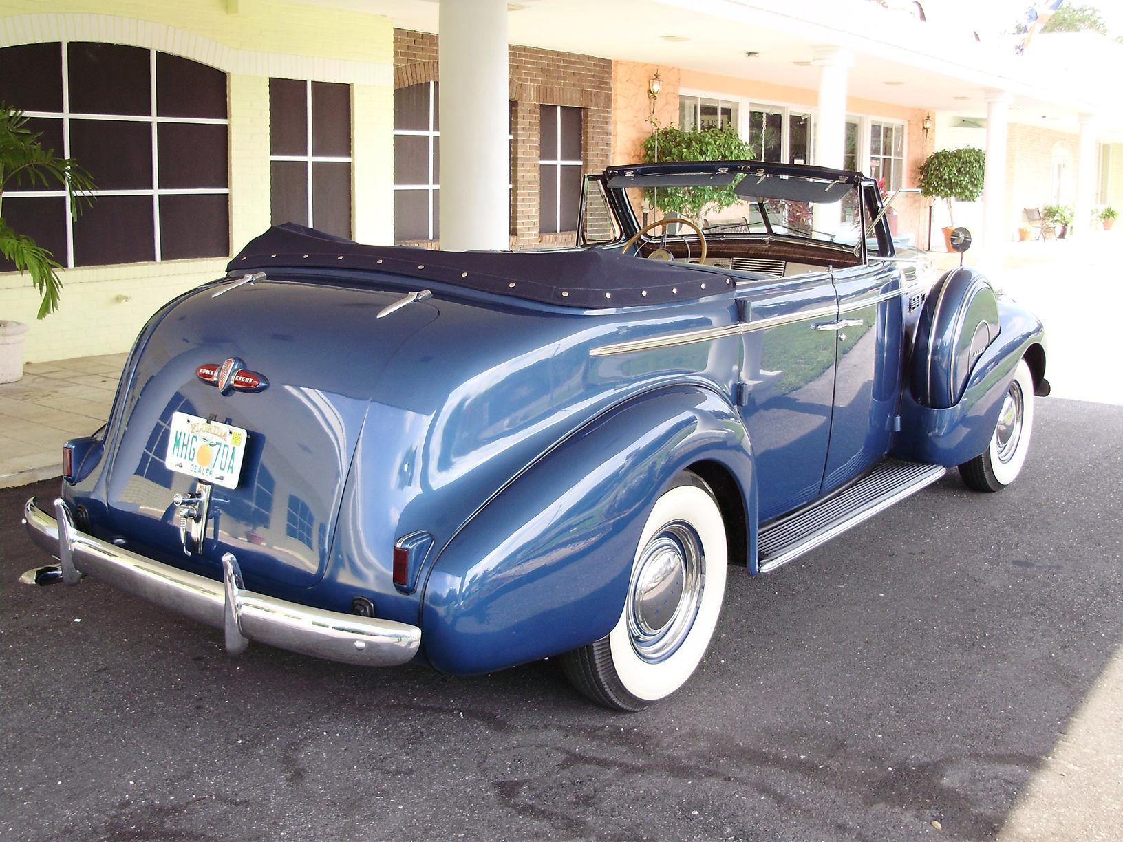 1940 BUICK CENTURY CONVERTIBLE SEDAN - Vintage Motors of Sarasota Inc. #6