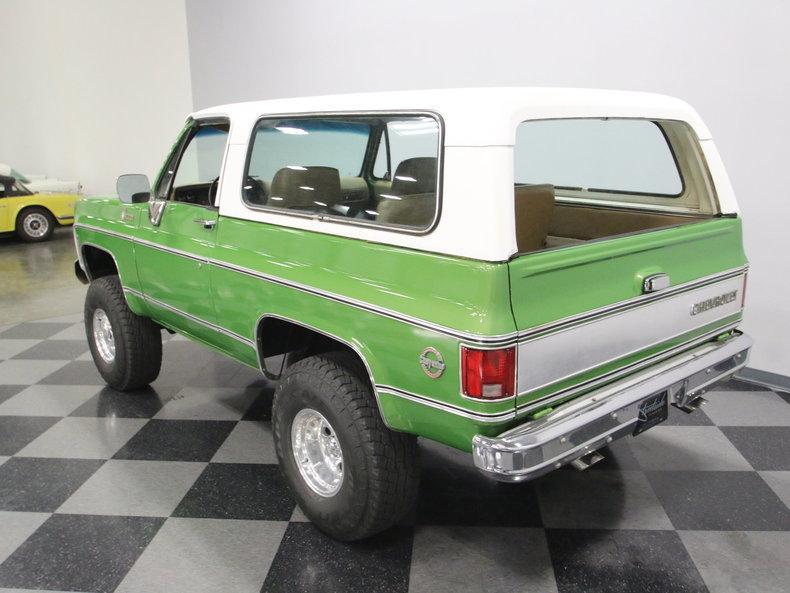 1975 Chevrolet Blazer K5 #21