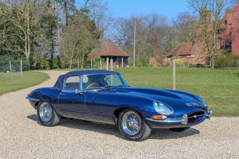 1962 Jaguar E-Type Roadster #0