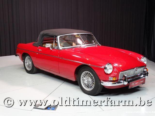 MG B Roadster Red '67 #204