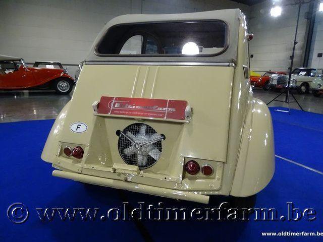 Citroën 2CV 4x4 Sahara '62 #40