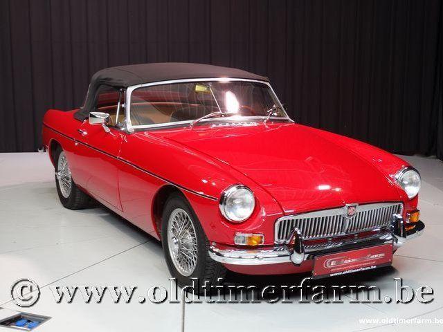 MG B Roadster Red '67 #206